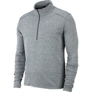 Half Zip Core Long Sleeve Running Top Mens