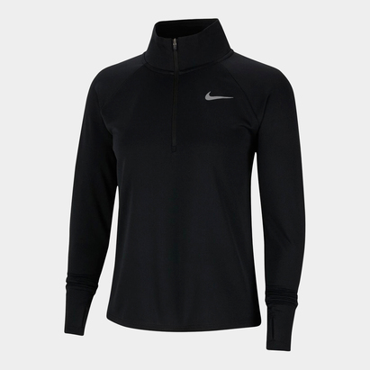 Nike Pacer Womens Long Sleeve  half  Zip Running Top