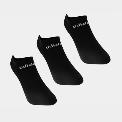 adidas Low Cut 3 Pack No Show Socks