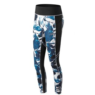 New Balance Print Impact Tights Ladies