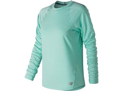 New Balance Seasonless Long Sleeve T Shirt Ladies
