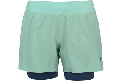 Asics 2 in 1 Shorts Ladies