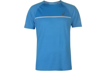 Asics Short Sleeve Running T-Shirt Mens