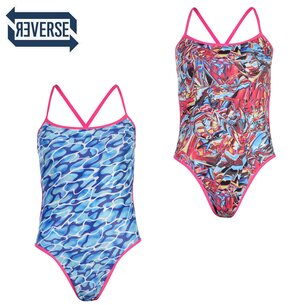 Speedo Flip Reversible Swimsuit Ladies
