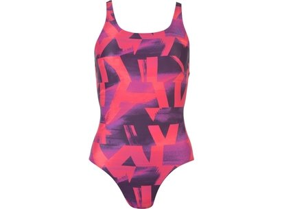 adidas Fit Print Swimsuit Ladies