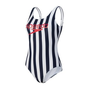Speedo Heritage Ice Cream U Back Swimsuit Ladies