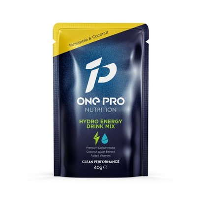One Pro Hydro Energy Drink Mix Sachet Pineapple & Coconut