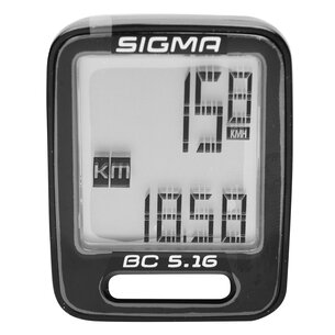 Sigma BC516 Wired Bike Computer