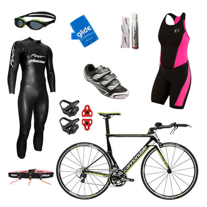 International Only - Cannondale Slice 105 Team Replica Womens Triathlon Package