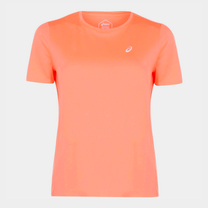 Asics Katakana Short Sleeve T Shirt Ladies