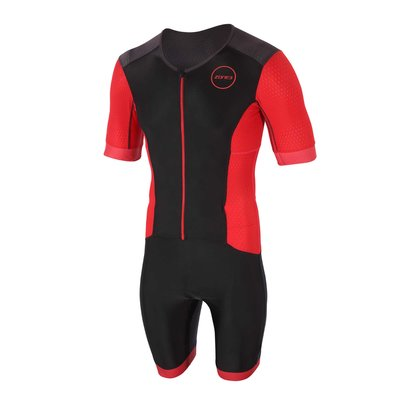 Zone3 Aquaflo Plus Short Sleeve Full Zip Tri Suit