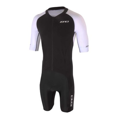 Zone3 Lava Long Distance Full Zip Short Sleeve Aero Suit