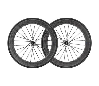 Mavic Comete Pro Carbon SL UST Disc Tour De France Wheelset 2020