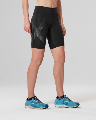 2XU Mid-Rise Compression Shorts Women's