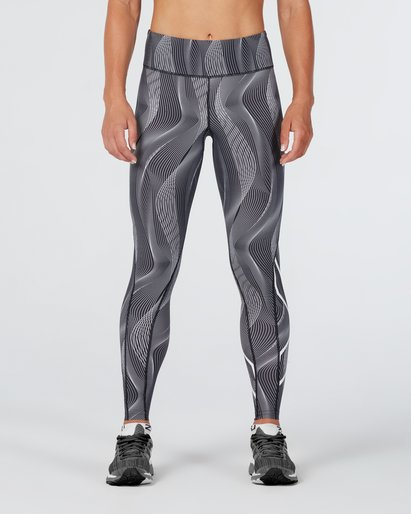 2XU Mid-Rise Print Tight With Storage