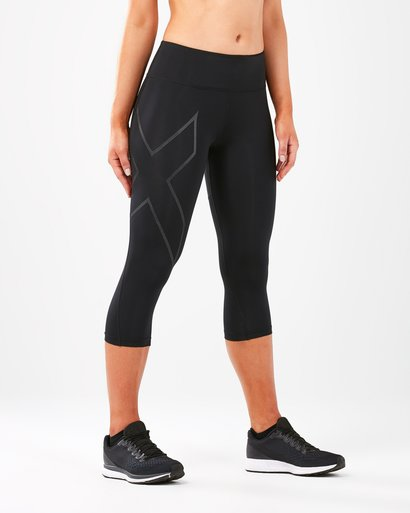 2XU Run Mid Rise Compression 3/4 Tights Women's