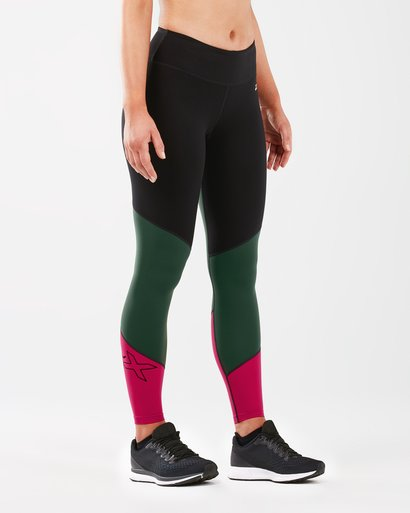 2XU Fitness Mid Colour Block Tight Female