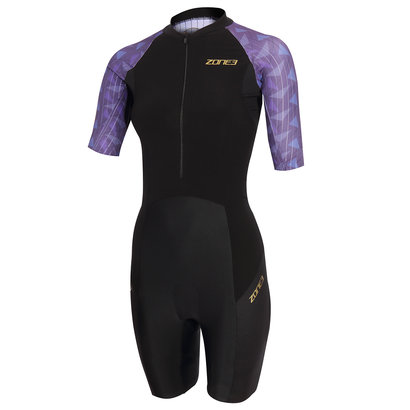 Zone3 Lava Short Sleeve Trisuit Women's