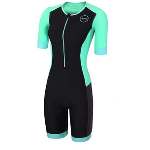 Zone3 Womens Aquaflo Plus Short Sleeve Trisuit