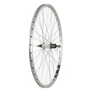 Raleigh 700c Rear Rim Brake QR Wheel   8 9 Speed Cassette