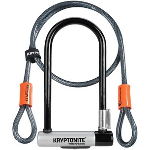 Kryptonite Kryptolok D Lock with Kryptoflex Cable