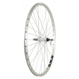 Raleigh 700c Rear Rim Brake QR Wheel   Free Wheel