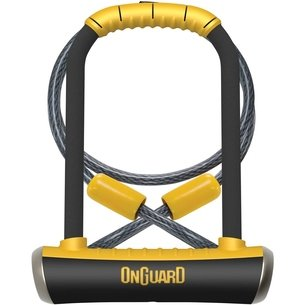 OnGuard D Lock with Cable