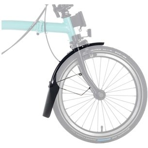 Brompton Front Mudgaurd Blade  And  Flap