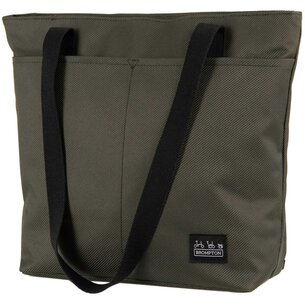 Brompton Borough Tote Bag, Small, Olive with frame