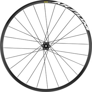 Mavic Aksium Clincher 6 Bolt Disc Brake 700c Road Front Wheel