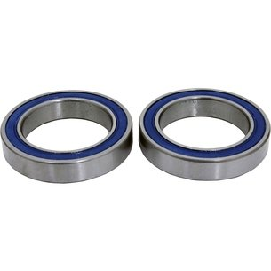 Wheels Manufacturing Cartridge Bearing (Pair)   6802 (ID   15 mm, OD   24 mm, Width   5 mm)