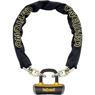 OnGuard Chain Lock with Mini Boxer Shackle