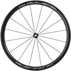 Shimano Dura Ace R9100 C40 Carbon Tubular QR Front Road Wheel
