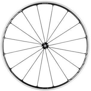 Shimano RS81 C24 Tubeless Compatible 700C Front Road Wheel