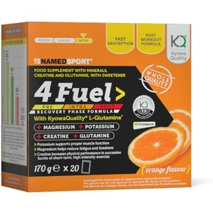 NAMEDSport 4 Fuel Recovery Sachets x20