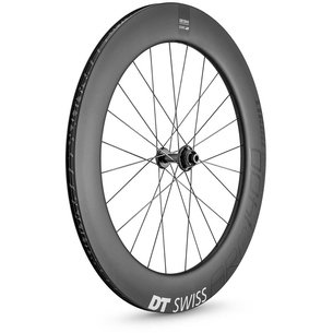 DT Swiss Swiss ARC 1400 Dicut 80mm Clincher Disc Brake 700c Road Bike Front Wheel