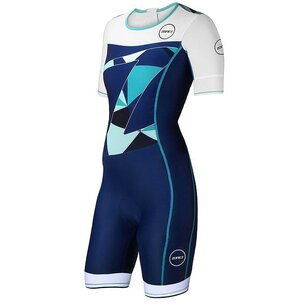 Zone3 Womens Lava Short Sleeve Aero Trisuit
