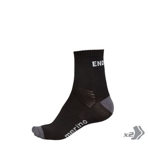 Endura BaaBaa Merino Sock (Twin Pack)