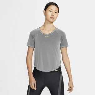 Nike Icon Clash Womens Short Sleeve Running Top