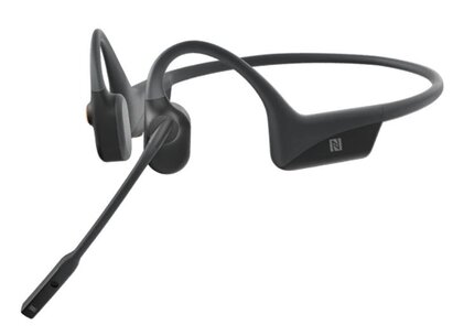 Aftershokz Opencomm Open Ear Bone Conduction Bluetooth Headset