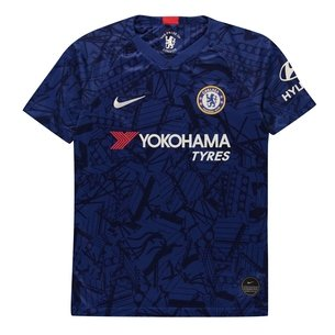 Nike Chelsea Home Short Sleeve Shirt Junior Boys