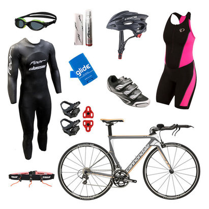 Cannondale Slice 105 Grey Womens Triathlon Package