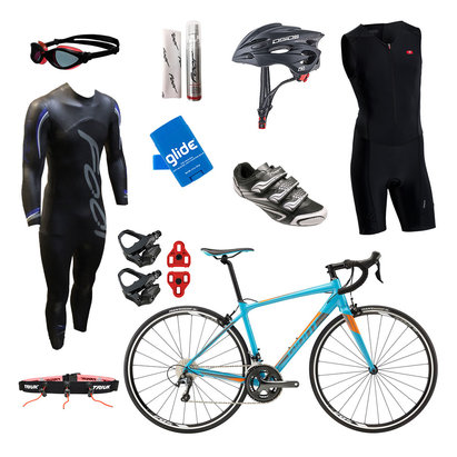 Giant Contend SL 2 Mens Triathlon Package