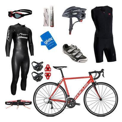 Focus Izalco Mens Triathlon Package