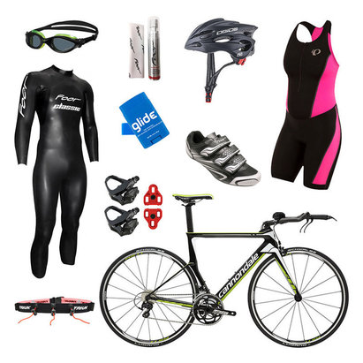 Cannondale Slice 105 Team Replica Womens Triathlon Package