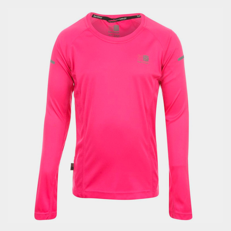 Long Sleeved Running Top Girls