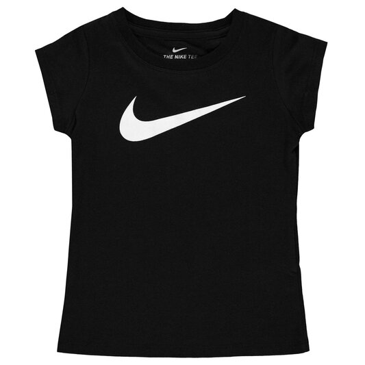Swoosh T Shirt Infant Girls