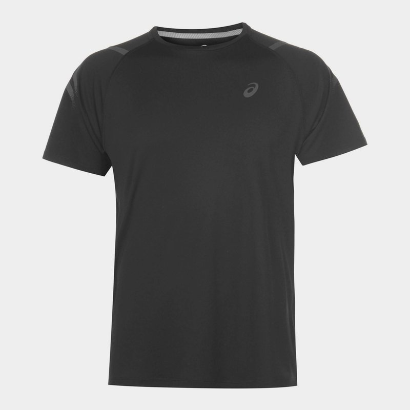 Icon Short Sleeve T-Shirt Mens Black