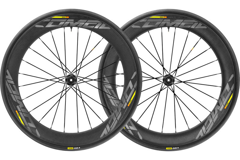 Mavic Comete Pro Carbon SL C UST Disc Center Lock Wheelset 2018