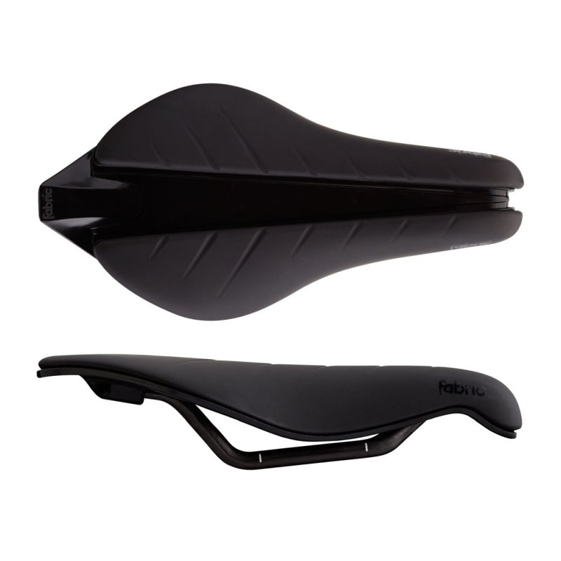 Tri Pro Flat Saddle 134mm Black / Black